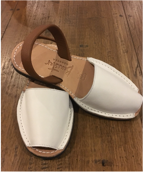 Benestar - White and Tan Sandal
