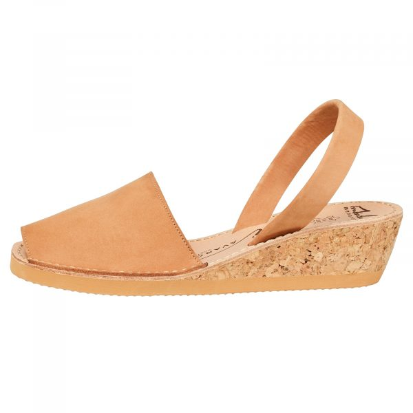 Tan Nuuck Wedge Avarcas