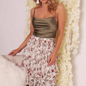 Flowy Days Skirt/Cami Top