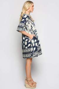 Lavelle Dress Venice Blue