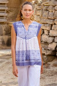 Tomika Embroidered Top